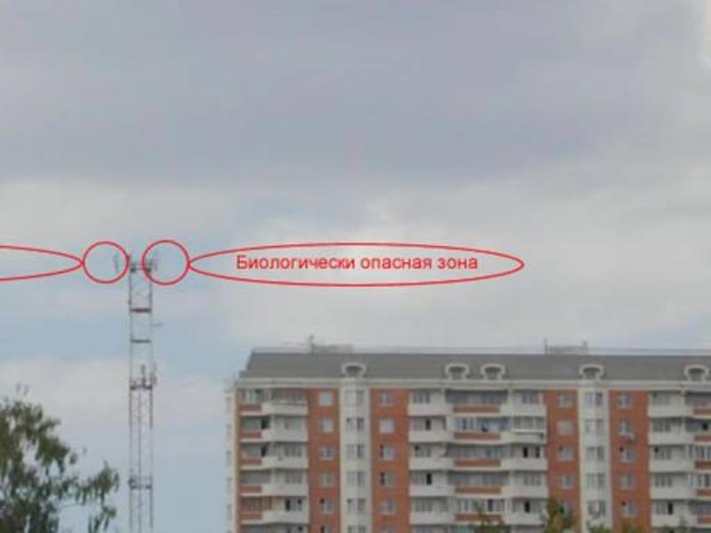 Нормы установки мачт сотовой связи